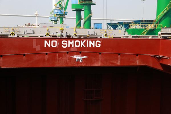 全国口岸首次启用无人机熏蒸残留检测作业